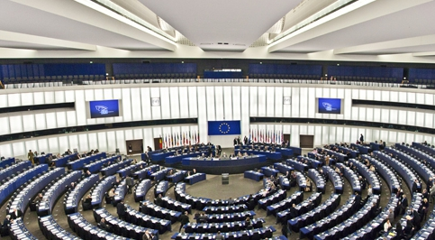 Poprvé v Parlamentním shromáždění Rady Evropy